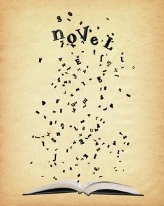 letter scatter novel