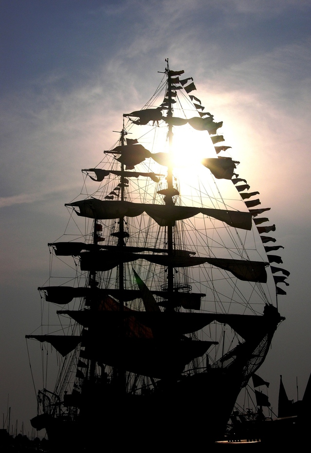 Pirate ship coming for your books