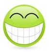 Big green smiley