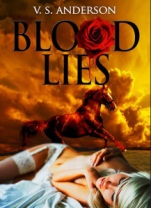 Cover Blood Lies A son. A horse. Atonement.