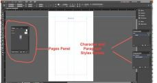 Workspace in InDesign