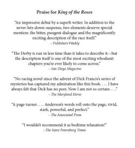 Praise for King of the Roses