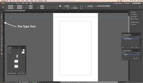 Workspace Type Tool