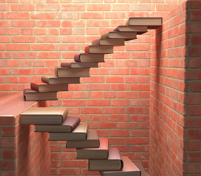 Books as stairs to publishing success
